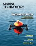 Marine Technology Magazine Cover May 2013 - Hydrographic Survey
