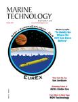 Marine Technology Magazine Cover Oct 2016 - AUV Operations