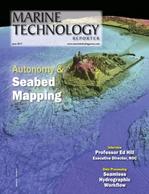 Marine Technology Magazine Cover Jun 2017 - Hydrographic Survey