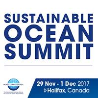 logo of Sustainable Ocean Summit