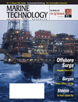 Marine Technology Magazine Cover Apr 2012 - Global Offshore Deepwater Report