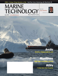 Marine Technology Magazine Cover Jun 2012 - AUV Arctic Operations