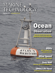 Marine Technology Magazine Cover Sep 2013 - Ocean Observation: Gliders, Buoys & Sub-Surface monitoring Networks