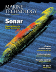 Marine Technology Magazine Cover Mar 2014 - Instrumentation: Measurement, Process & Analysis
