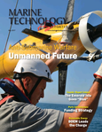 Marine Technology Magazine Cover May 2017 - Underwater Defence