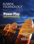 Marine Technology Magazine Cover Nov 2017 - Acoustic Doppler Sonar Technologies ADCP & DVLs