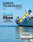 Marine Technology Magazine Cover Oct 2020 -