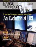 Marine Technology Magazine Cover Jan 2006 - Marine Science Institutions