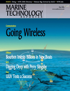 Marine Technology Magazine Cover May 2006 - The Communications Edition
