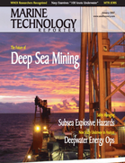 Marine Technology Magazine Cover Jan 2007 - Seafloor Engineering