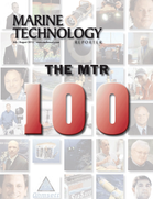 Marine Technology Magazine Cover Jul 2013 - MTR 100