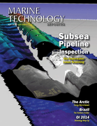 Marine Technology Magazine Cover Apr 2014 - Offshore Energy