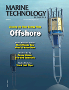 Marine Technology Magazine Cover Apr 2016 - Offshore Energy Annual