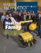 Marine Technology Magazine Cover Jan 2018 - Underwater Vehicle Annual: ROVs, AUVs and UUVs