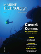 Marine Technology Magazine Cover May 2019 - Underwater Defense Technology