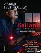Marine Technology Magazine Cover May 2021 - Hydrographic Survey Sonar