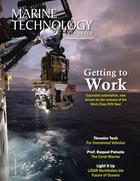 Marine Technology Magazine Cover Jul 2021 - Autonomous Vehicle Operations