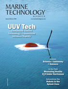 Marine Technology Magazine Cover Jan 2020 -