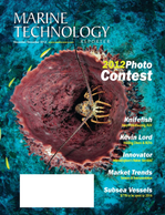 Marine Technology Magazine Cover Nov 2012 - Fresh Water Monitoring & Sensors