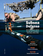 Marine Technology Magazine Cover Jun 2018 - Underwater Defense