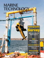 Marine Technology Magazine Cover Jun 2019 - Hydrographic Survey: Single & Multibeam Sonar