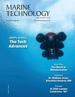Marine Technology Magazine Cover Nov 2019 - MTR White Papers: Subsea Vehicles