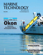 Marine Technology Magazine Cover Oct 2020 -