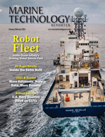 Marine Technology Magazine Cover Jan 2021 - Underwater Vehicle Annual
