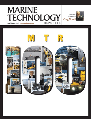 Marine Technology Magazine Cover Jul 2012 - MTR 100