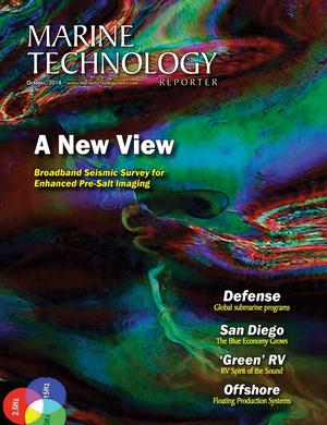 Marine Technology Magazine Cover Oct 2014 - Subsea Defense