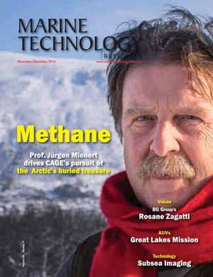 Marine Technology Magazine Cover Nov 2016 - Subsea Engineering & Construction