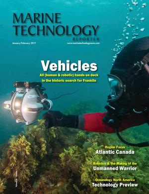 Marine Technology Magazine Cover Jan 2017 - Underwater Vehicle Annual: ROV, AUV, and UUVs