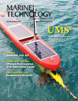 Marine Technology Magazine Cover Nov 2020 -