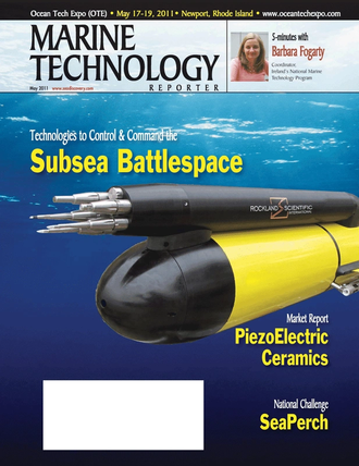Marine Technology Magazine Cover May 2011 - Subsea Defense Edition