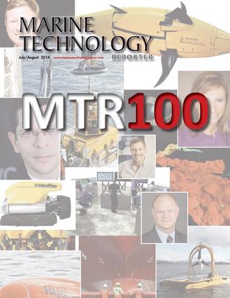 Marine Technology Magazine Cover Jul 2014 - MTR100