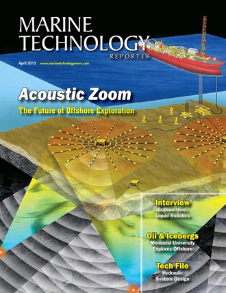 Marine Technology Magazine Cover Apr 2015 - Offshore Energy Annual