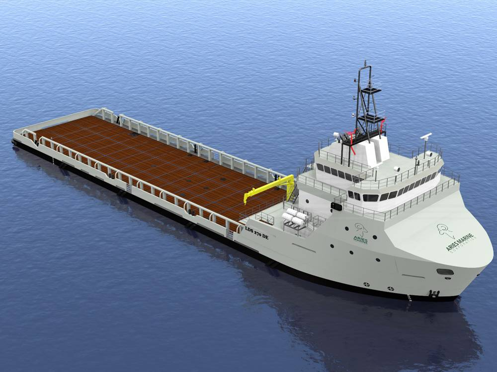 Leevac Wins Deal To Build PSV Pair For Aries Marine