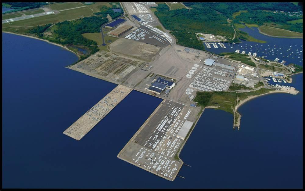 Rhode Island Port Of Davisville