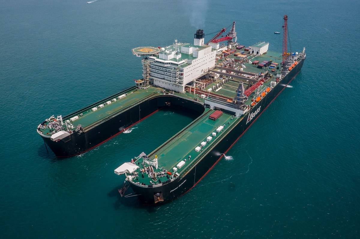 allseas group, owners of the world's largest construction vessel