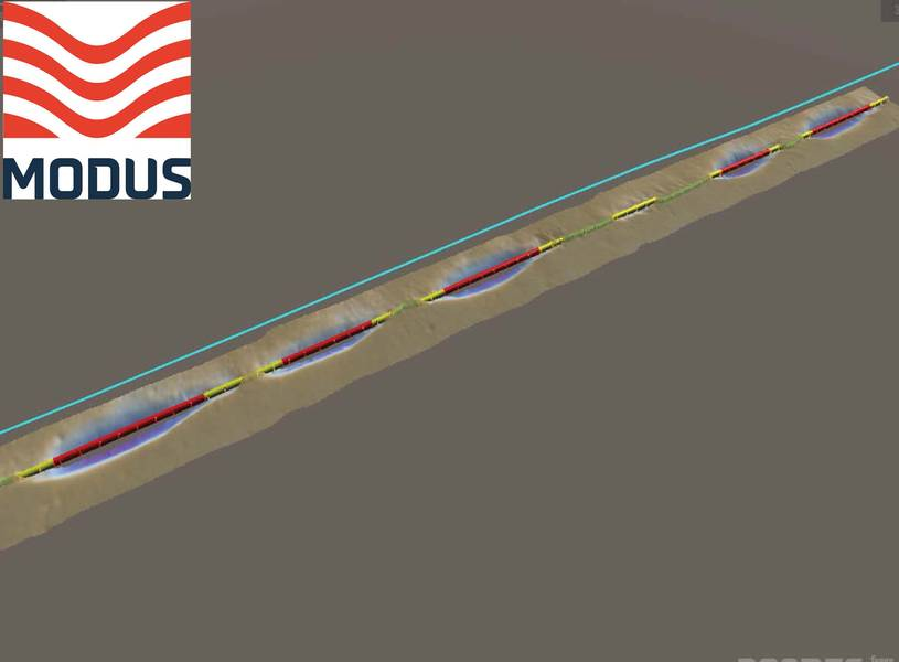 Εικόνες: Παρεμβολή του θαλάσσιου βυθού Modus