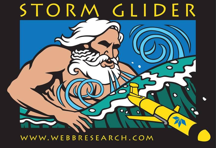 Εικ. 3: Αεροπλάνο Teledyne Slocum για παρακολούθηση καταιγίδων. Πιστωτική κάρτα: Teledyne Marine
