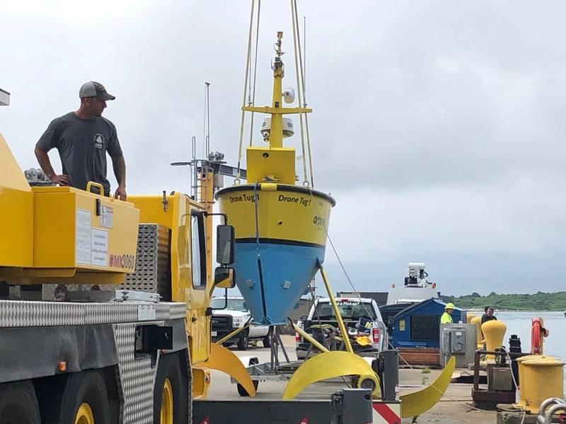 Το Κέντρο Θαλάσσιας Ρομποτικής του WHOI φιλοξένησε το 5ο Ετήσιο Φόρουμ Επιχειρηματιών για τη Ρομποτική στη Θάλασσα. (Φωτογραφία: Rob Howard)