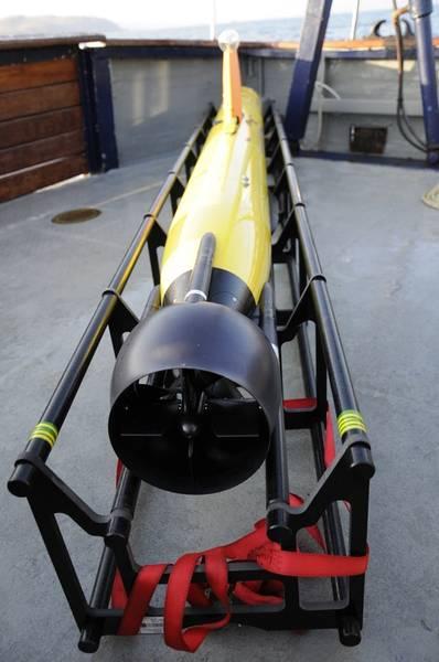 Οι συσκευές Gavia της SAMS χρησιμοποιούνται σε ένα ευρύ φάσμα αποστολών. Φωτογραφία από SAMS.