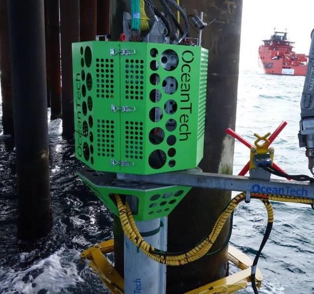 أدوات جديدة: وحدة التفتيش والتنظيف والإصلاح تحت سطح البحر. الائتمان: OceanTech