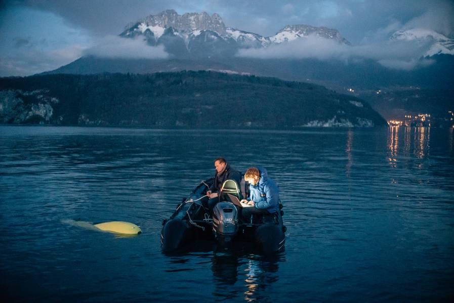 सीएफआईएस लेजर का उपयोग करके सागर तल को मानचित्रित करने और छवि बनाने के लिए एयूवी का बेड़ा बना रहा है। (फोटो: फैब्रिस कैटरिनी)
