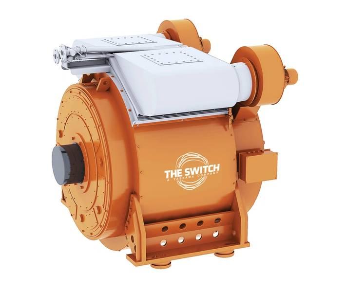 两用:The Switch的船用永磁电机。图片Courtesy The Switch