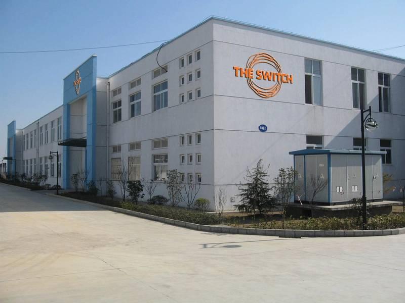 中国的挑战:Switch在中国的业务包括在栾这个网站。图片由Yaskawa的The Switch提供
