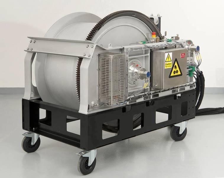 定制设计的绞车系统(照片:MacArtney)