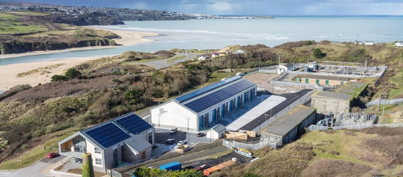 照片:Marine Hub Cornwall