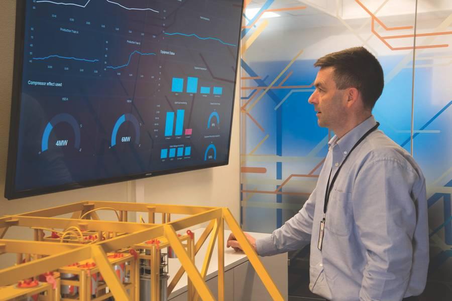 ABB Subsea: يمكن لشبكة الطاقة البحرية أن تساعد المشغلين على مراقبة صحة معداتهم البحرية عن كثب. (الصورة: ABB)